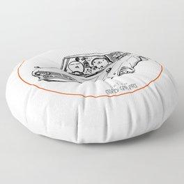 Crazy Car Art 0198 Floor Pillow