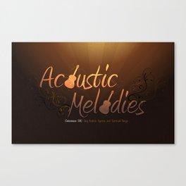 Acoustic Melodies Canvas Print
