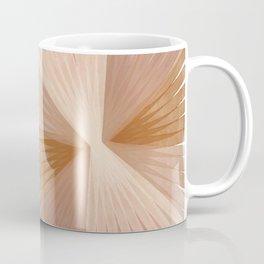 Warm Burst Modern Art Print Coffee Mug