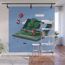 A relaxing little world Wall Mural