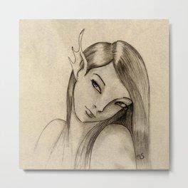 Pixie girl Metal Print