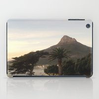 south africa iPad Cases featuring Table Mountain, South Africa by LFT designs