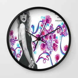 Look for the Beauty Wall Clock