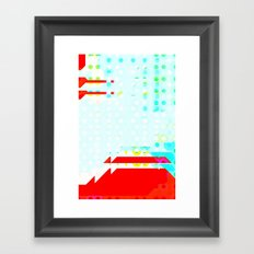 Volcano Fun Framed Art Print
