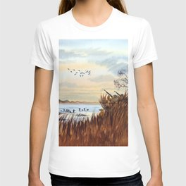 Duck Hunting Season Begins For The Canvasback T-shirt