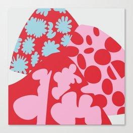 Fashion Mix Colors Canvas Print