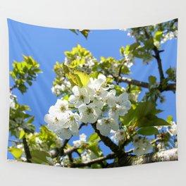 Apple Blossom Wall Tapestry