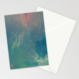 Space fall Stationery Cards