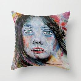 Deep Soul 4 Throw Pillow