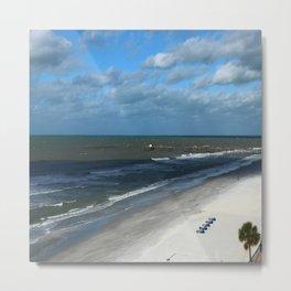 A Clearwater Beach Metal Print