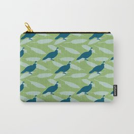 Californian Quail and home-grown sage Carry-All Pouch