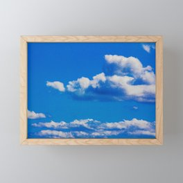 Clouds Framed Mini Art Print