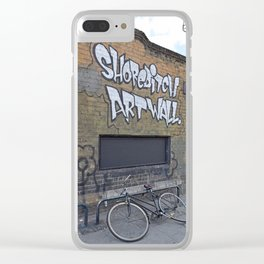 Art wall. Clear iPhone Case