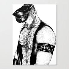 handsome hardcore Canvas Print