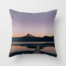 Oregon Lake Throw Pillow