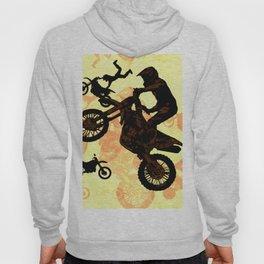 Extreme Motocross Stunts Hoody