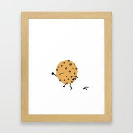 Dancing Desserts: Groovy Cookie Framed Art Print