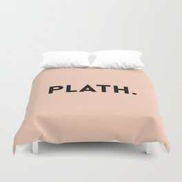 Sylvia Plath Duvet Cover