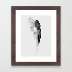 Inconspicuousness (Black & White)  Framed Art Print