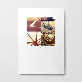 L O V E Metal Print