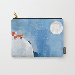 Fox In Nowhere Land Carry-All Pouch