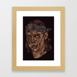 Rafa Nadal Framed Art Print