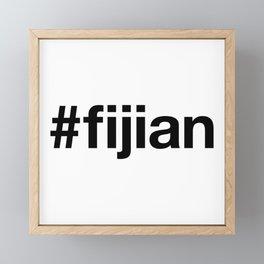 FIJIAN Framed Mini Art Print