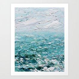 Graceful Waters Art Print
