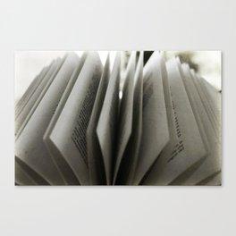 Book [SWAG] Canvas Print