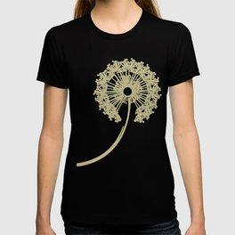 DANDELIONS TURQUOISE T-shirt