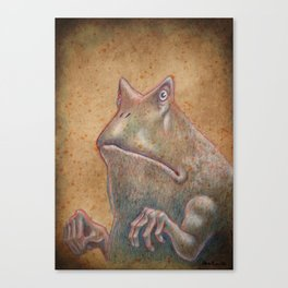 Medieval monster XIII Canvas Print