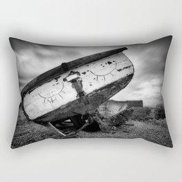 Let Sleeping Boats Lie Rectangular Pillow