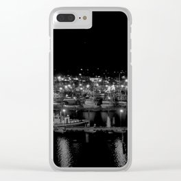 Night at the Marina Clear iPhone Case