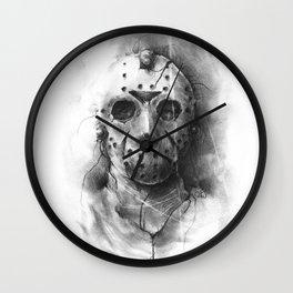 The Horror of Crystal Lake Wall Clock