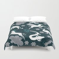 constellation Duvet Covers featuring  Constellation  by Liluna