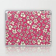 garland flowers pink Laptop & iPad Skin