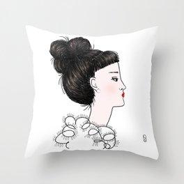Cuty Throw Pillow