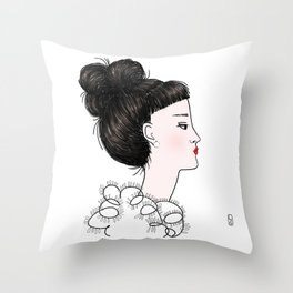 Cuty Throw Pillow