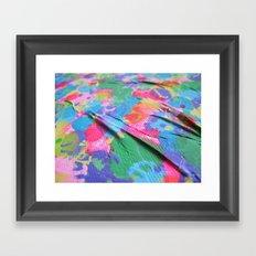 wrinkles - detail Framed Art Print