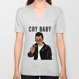 Johnny Depp Cry Baby Unisex V-Neck