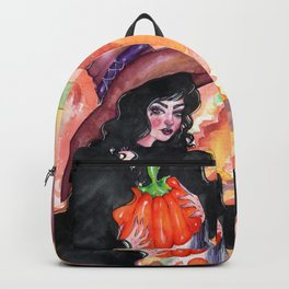 Halloween Witch Backpack