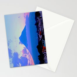 Volcano - Antigua, Guatemala Stationery Cards