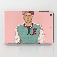 zayn iPad Cases featuring Zayn varsity by Coconut Wishes