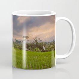 Bali rice field Coffee Mug