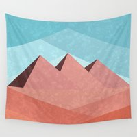 egypt Wall Tapestries featuring Egypt by Illusorium