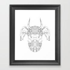 GOD I Framed Art Print