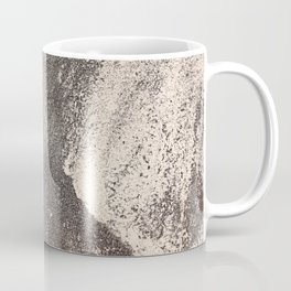 Sandpaper Attrition Rubbing Texture Coffee Mug