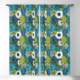 Vintage Florals Chrysanthemum Blackout Curtain