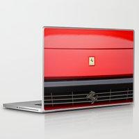 ferrari Laptop & iPad Skins featuring Ferrari 1 by Rainer Steinke