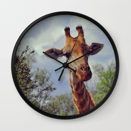 Closer, closer, how about now? Wall Clock